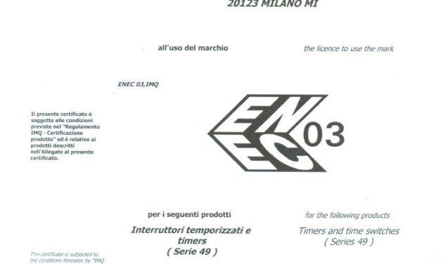ENEC – Timer MT49