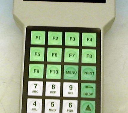 Handy Terminal Keypad